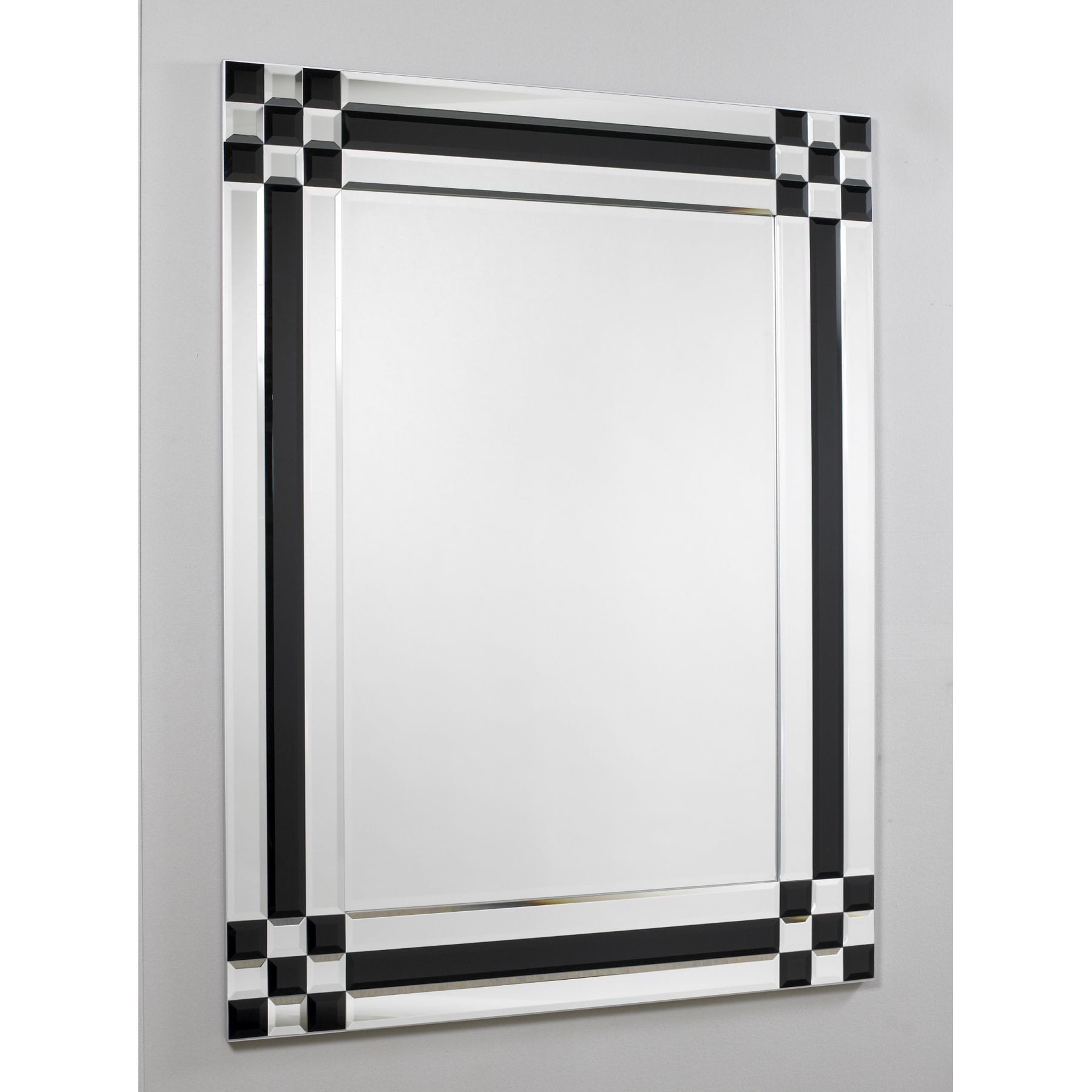 Black Amp Silver Mirror 3 Miscellaneous From Homesdirect