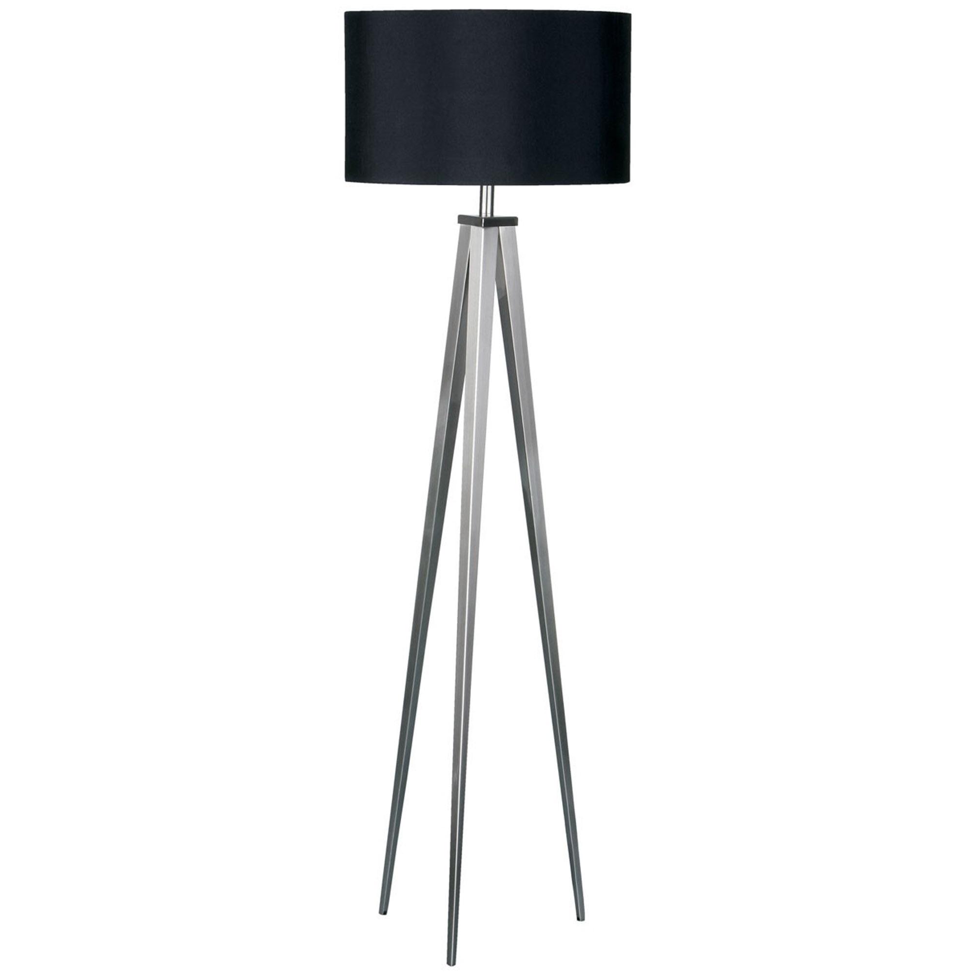 Black Tripod Floor Lamp Modern Contemporary Lighting