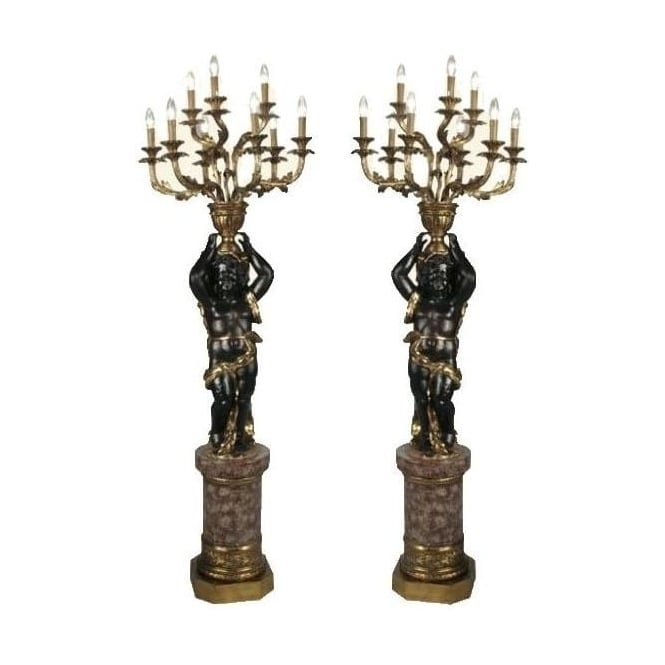 Blackmoor Lamp Pair