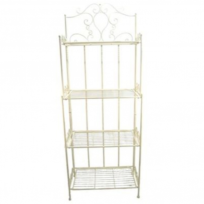 Blais. 4 Tier Antique French Style Outdoor Shelf