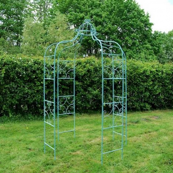 Blue Antique French Style Gazebo