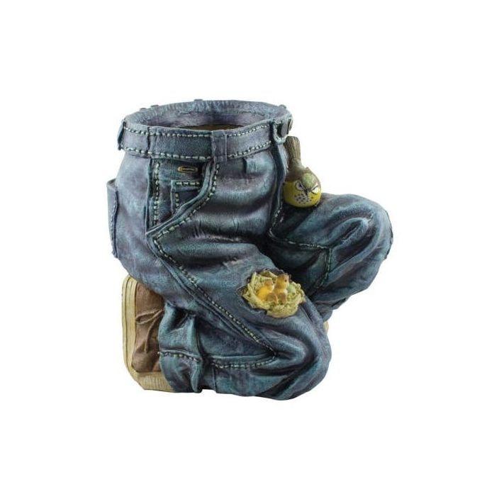 Blue Jeans Planter