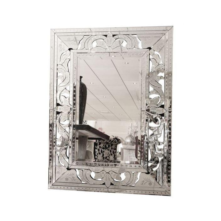 Bold Venetian Mirror | Homesdirect365 Detailed Mirrored Frame
