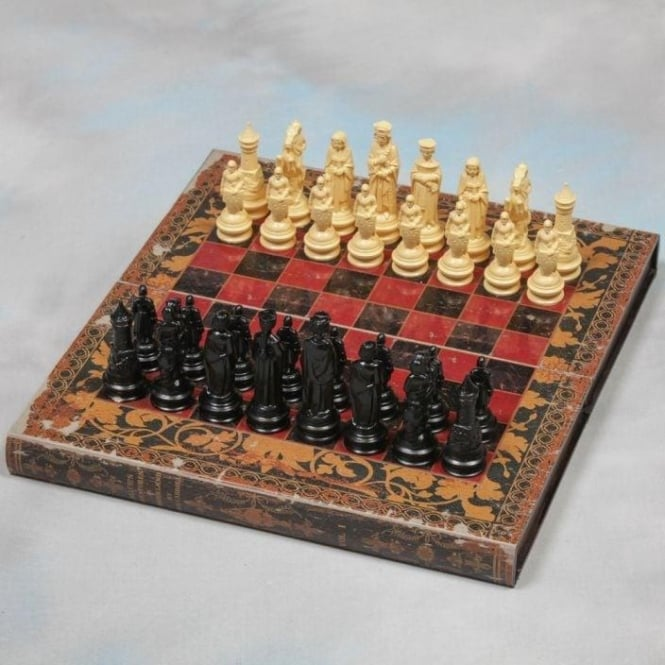 Book Folding Chess Set