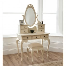 Bordeaux Antique French Dressing Table Set