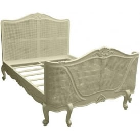 Bordeaux Ivory Shabby Chic Bed