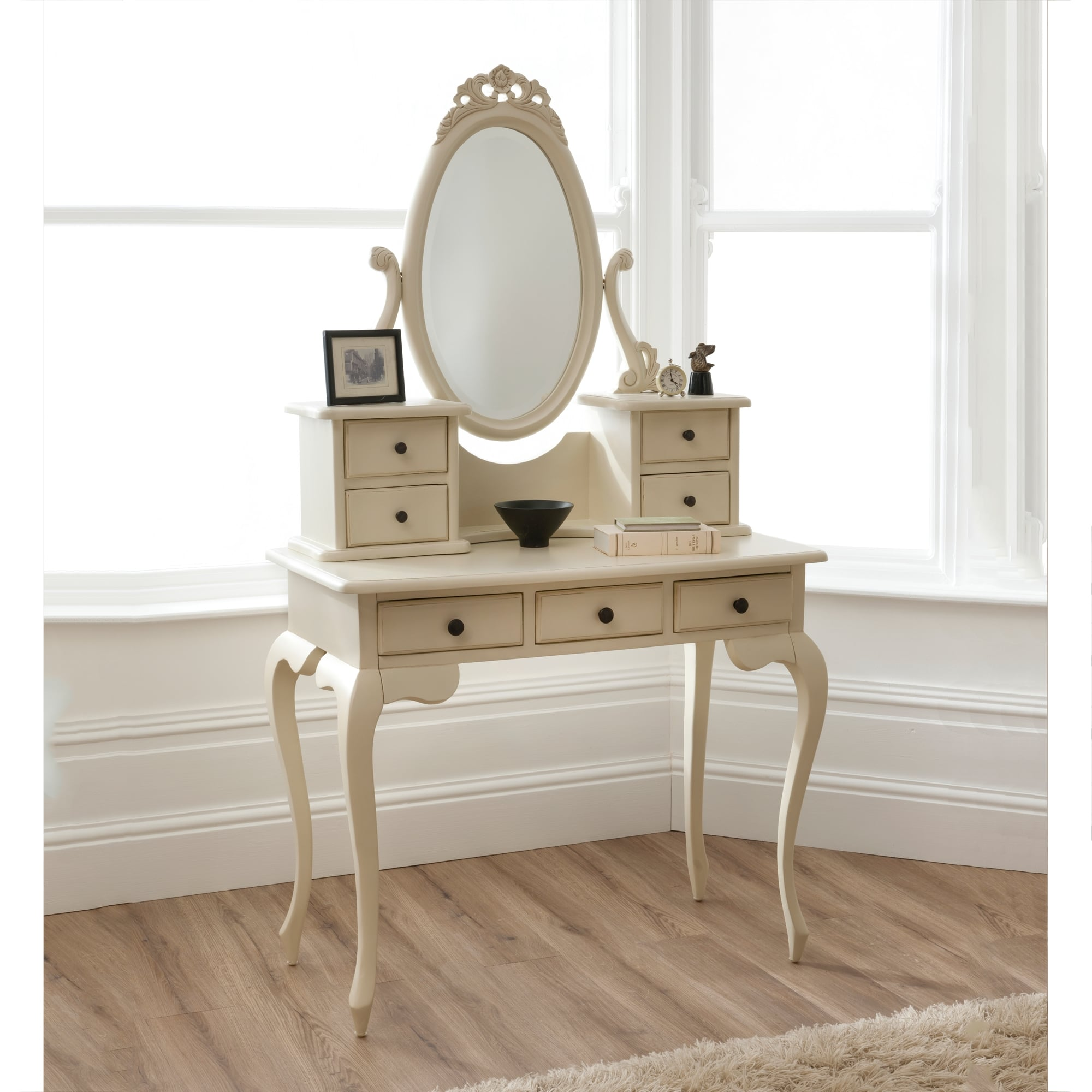 bordeaux ivory shabby chic dressing table shabby chic. Black Bedroom Furniture Sets. Home Design Ideas