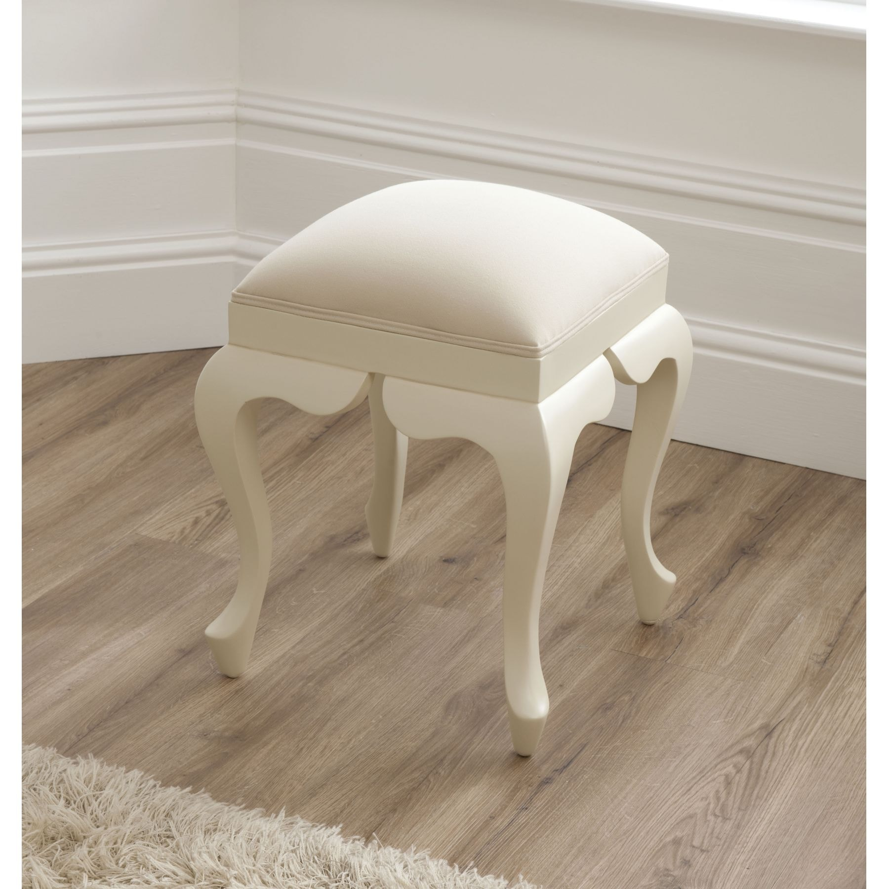 bordeaux ivory shabby chic stool shabby chic furniture. Black Bedroom Furniture Sets. Home Design Ideas