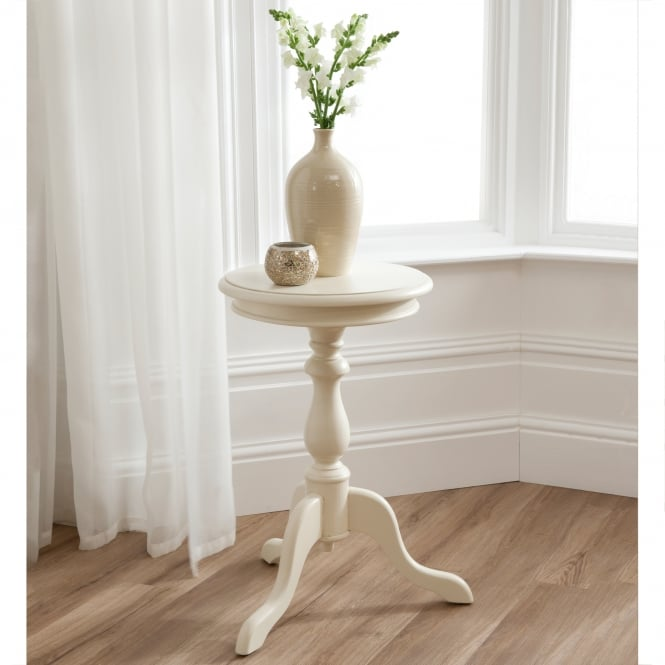 Bordeaux Ivory Shabby Chic Wine Table