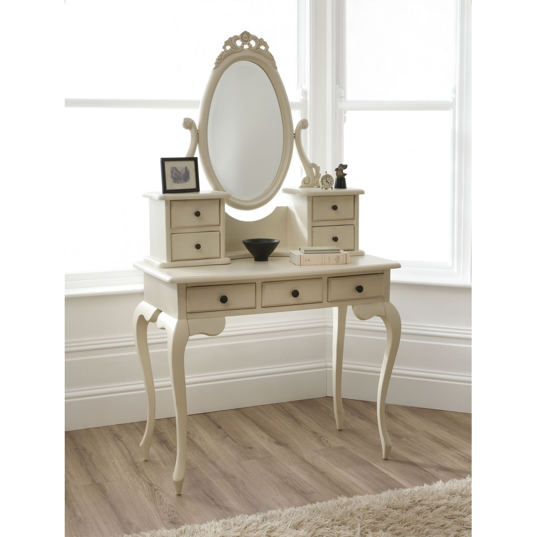 Bordeaux Shabby Chic Dressing Table Set | Shabby Chic Furniture
