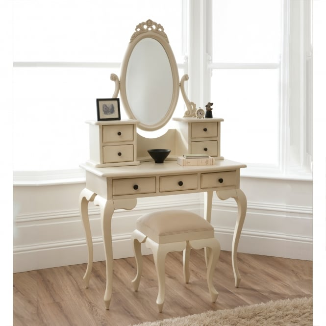 Bordeaux Shabby Chic Dressing Table Set