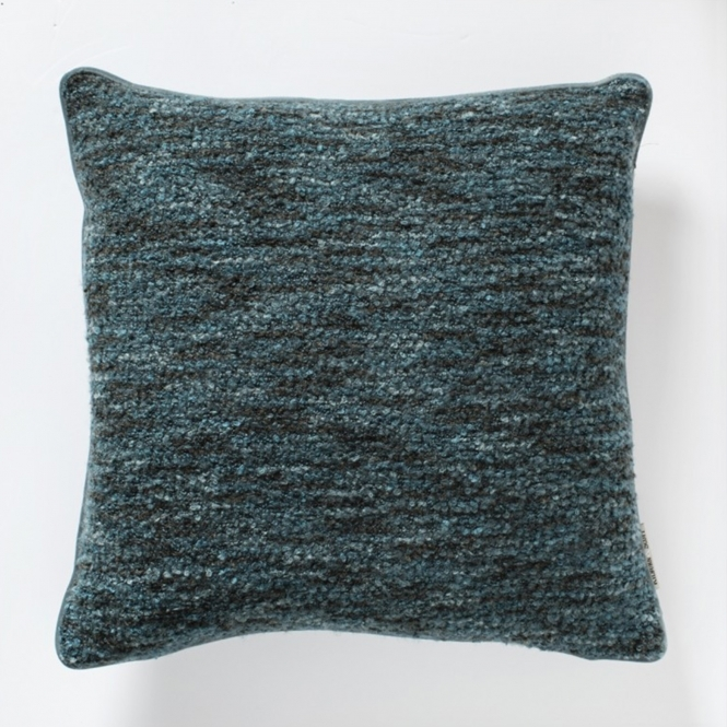 Boucle Cushion Teal