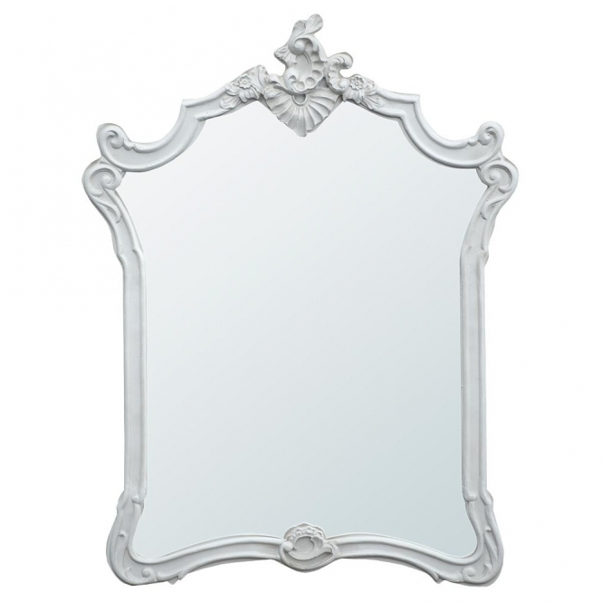 Boudoir Provence Baroque Antique French Style Mirror