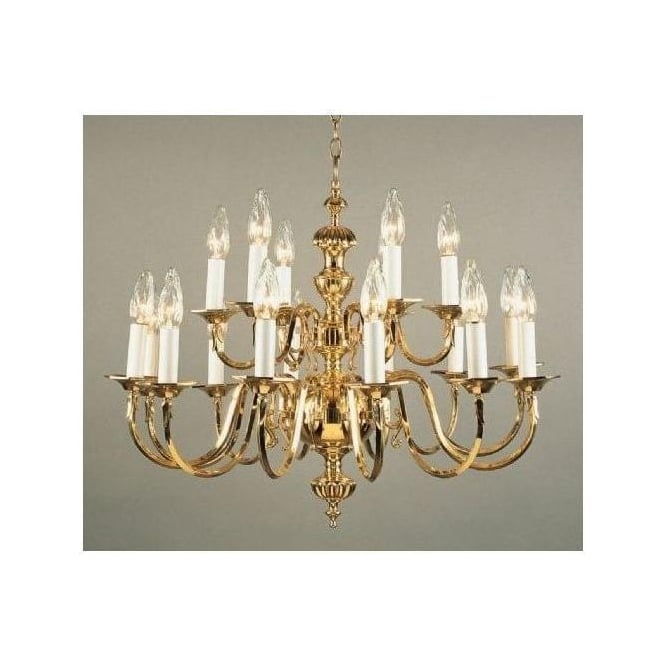 Brass Antique French Style Pendant Light 8
