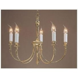 Brass Antique French Style Pendant Light