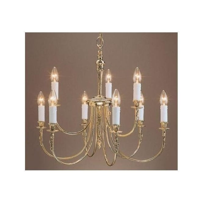 Brass Antique French Style Richmond Pendant Light