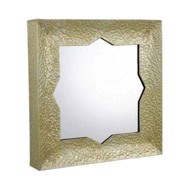 Brass Arabian Nights Mirror