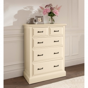 Brittany 2 Over 3 Shabby Chic Chest