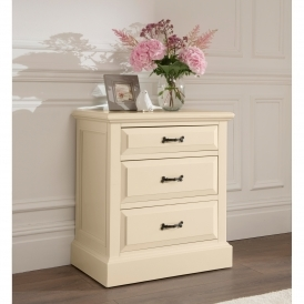 Brittany 3 Drawer Shabby Chic Chest