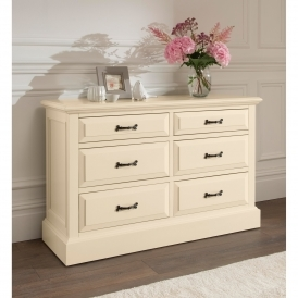 Brittany 6 Drawer Shabby Chic Chest