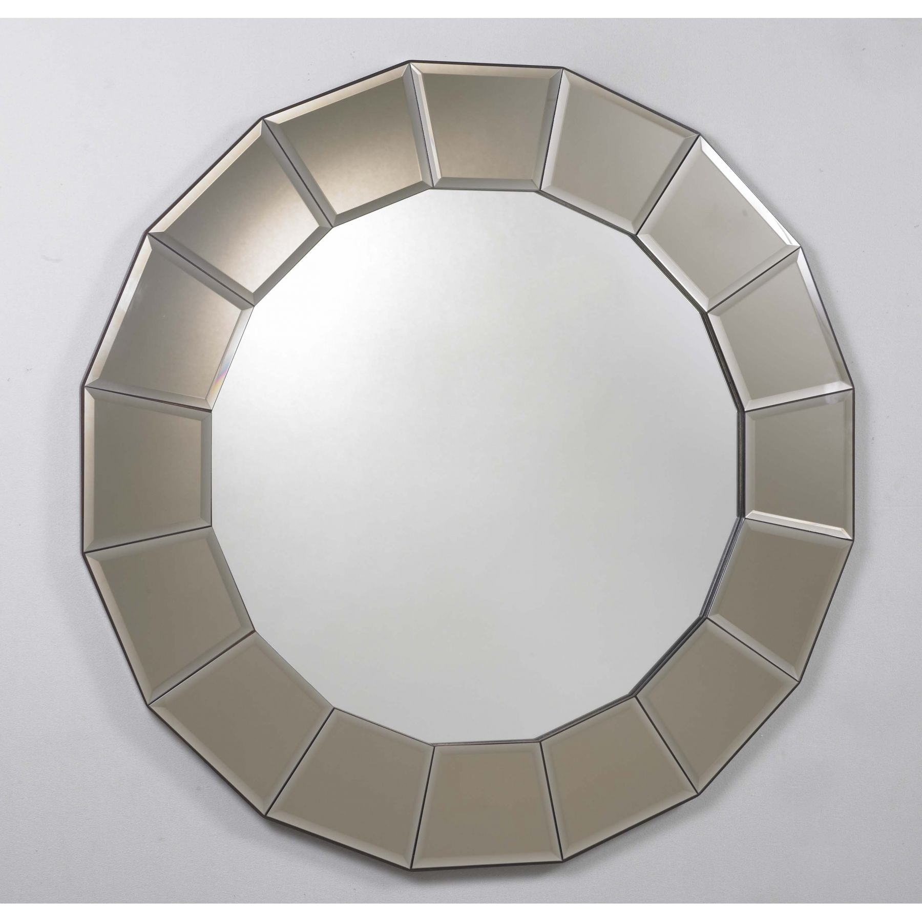 Bronze Circle Mirror - Miscellaneous from Homesdirect 365 UK