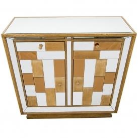 Bronze Mirrored Cabinet