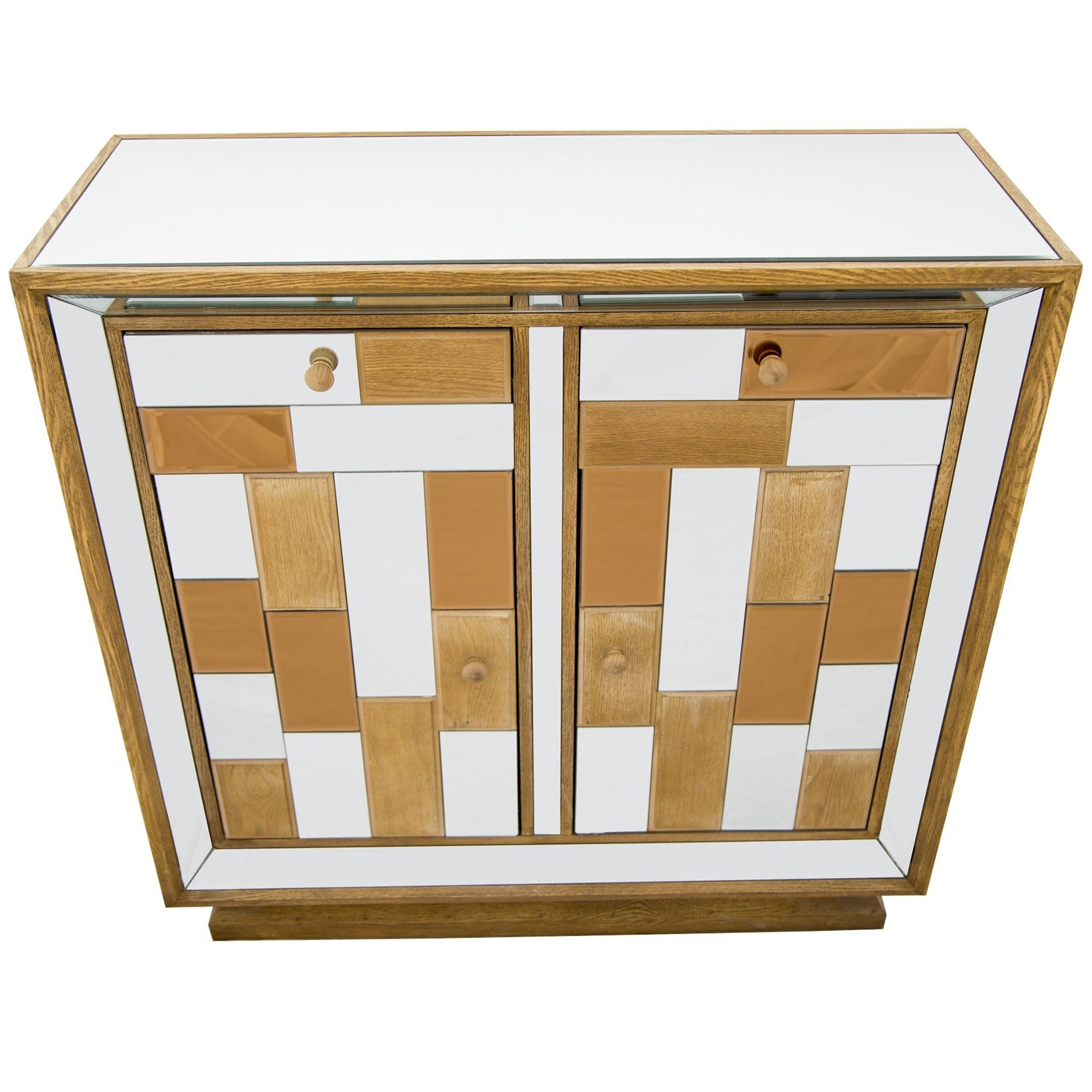 Beau Bronze Mirrored Cabinet