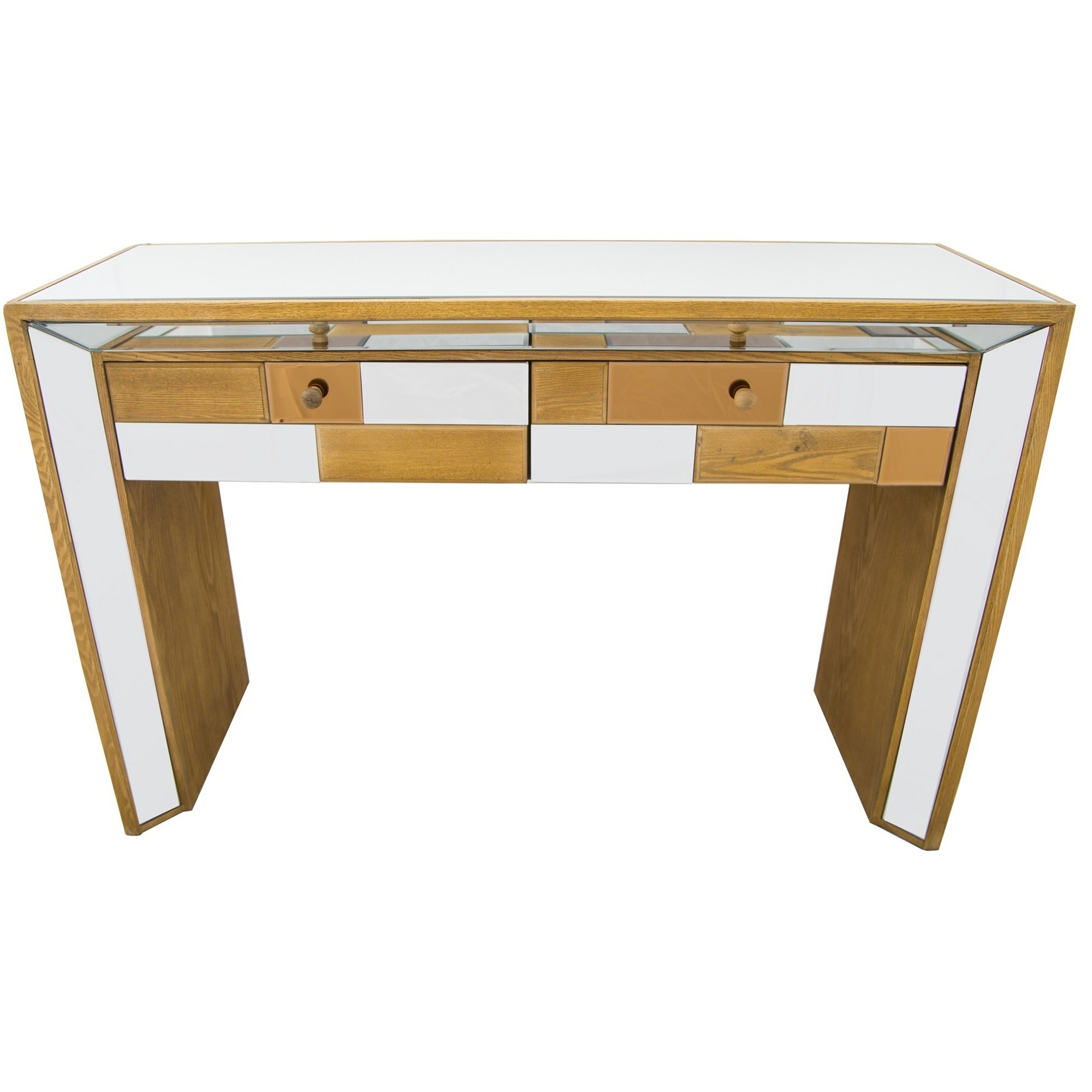 Bronze mirrored console table french furniture from homesdirect 365 uk