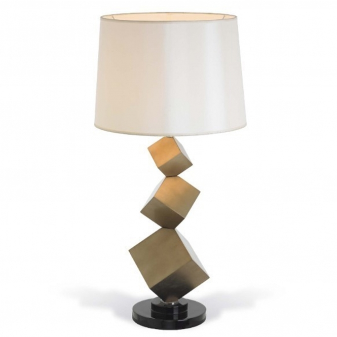 Bronze Table Lamp & Shade