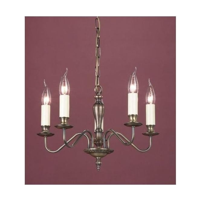 Brooklands Bronze Antique French Style Pendant Light