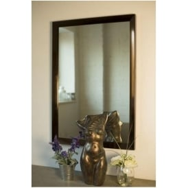 Brown Decorative Mirror