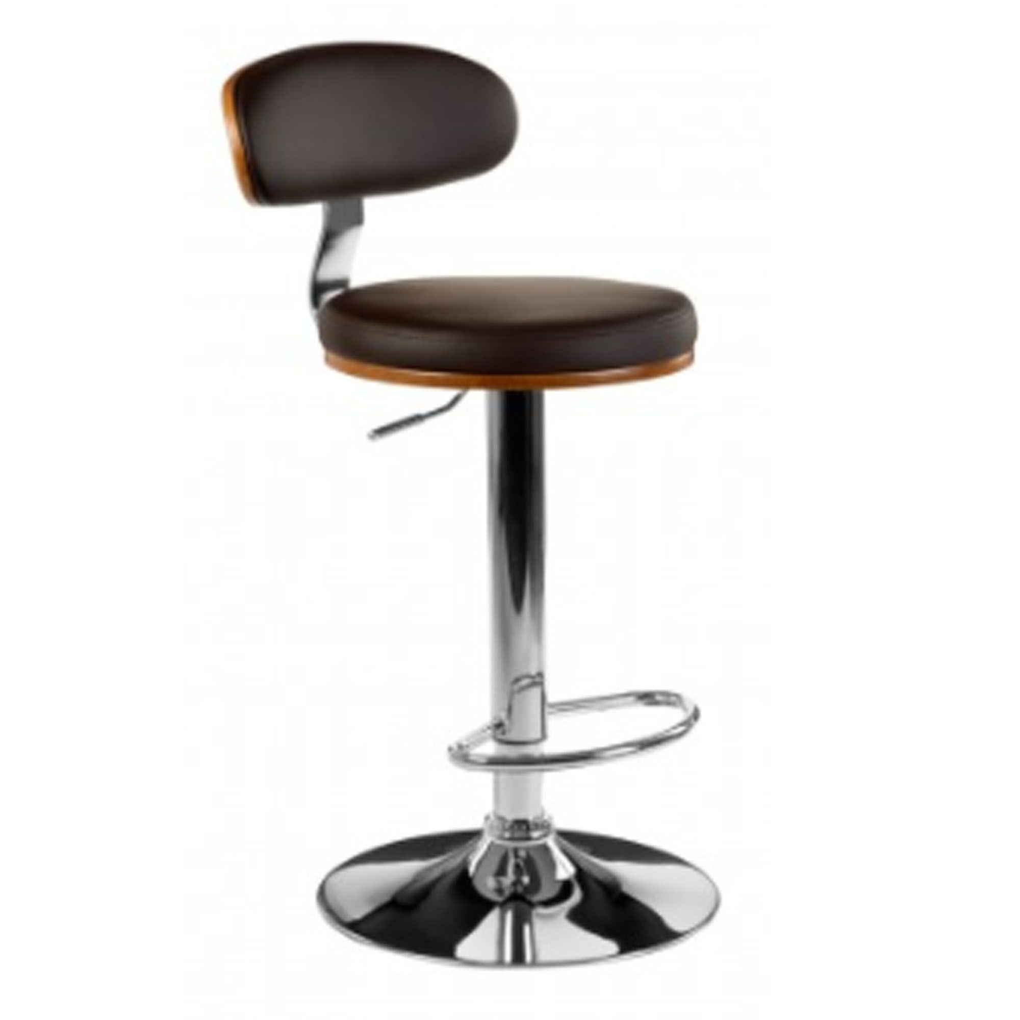Astounding Brown Vintage Bar Chair Caraccident5 Cool Chair Designs And Ideas Caraccident5Info