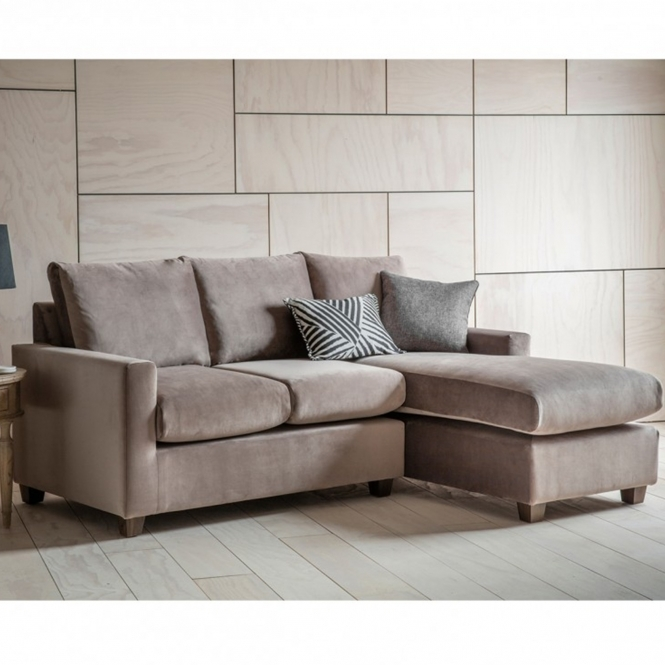 Brussels Taupe Stratford LH Chaise Sofa