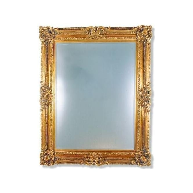Buckingham Gold Antique Style French Mirror