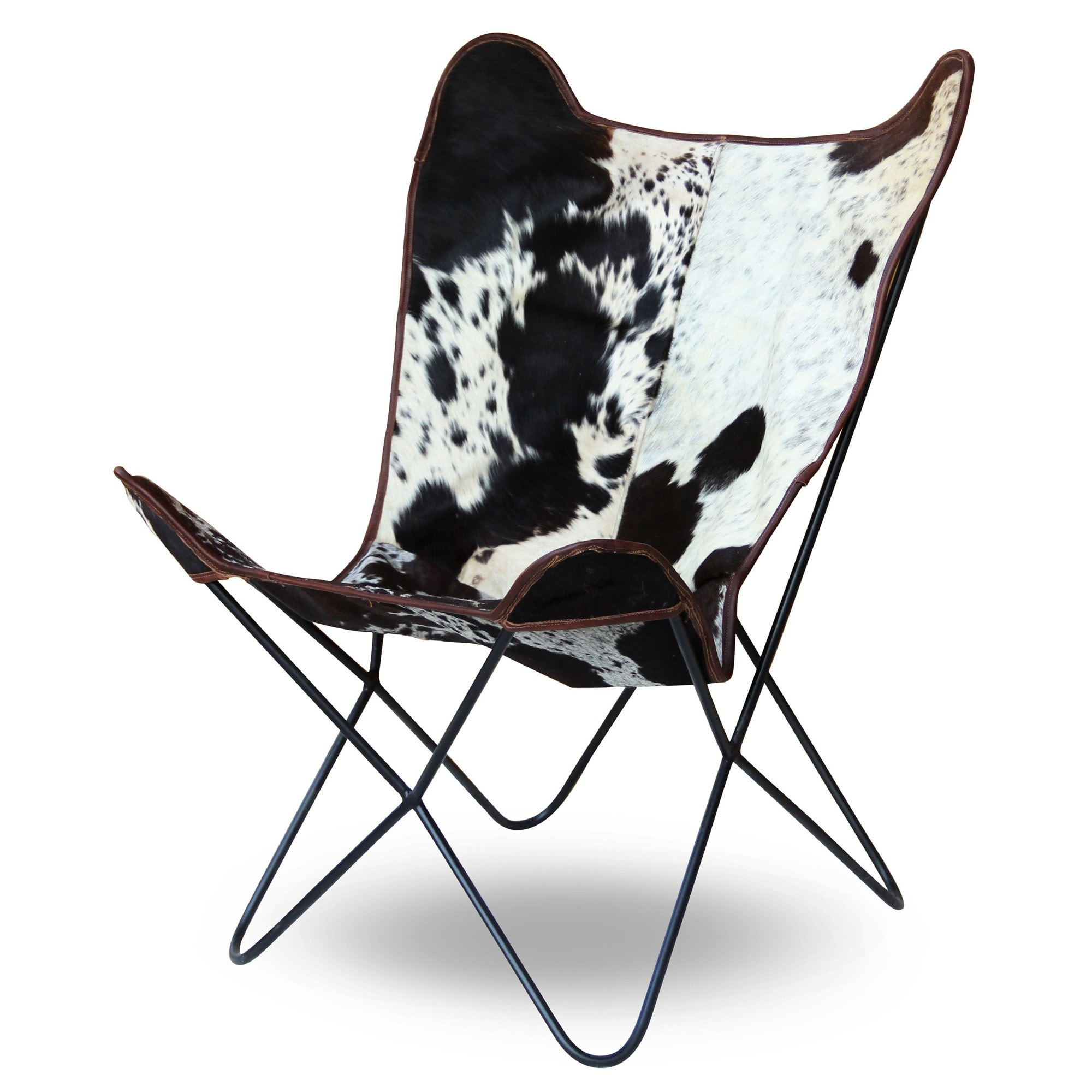 Awe Inspiring Butterfly Leather Rest Chair Download Free Architecture Designs Philgrimeyleaguecom