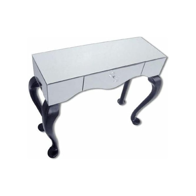 Cab Leg Mirrored Side Table