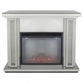 Calabria Fire Surround With Electric Fire