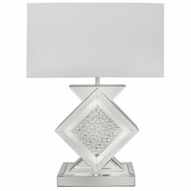 Calabria White Table Lamp