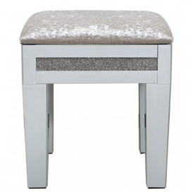 Calco Mirrored Stool
