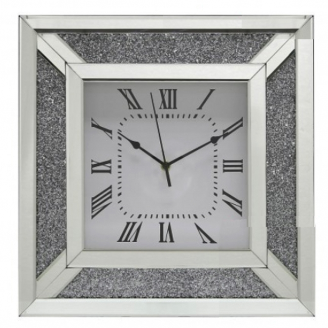 Calco Mirrored Wall Clock