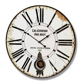 Caledonian Railway Antique French Style Clock