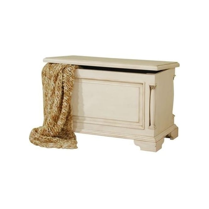 Canterbury Antique French Style Blanket Box