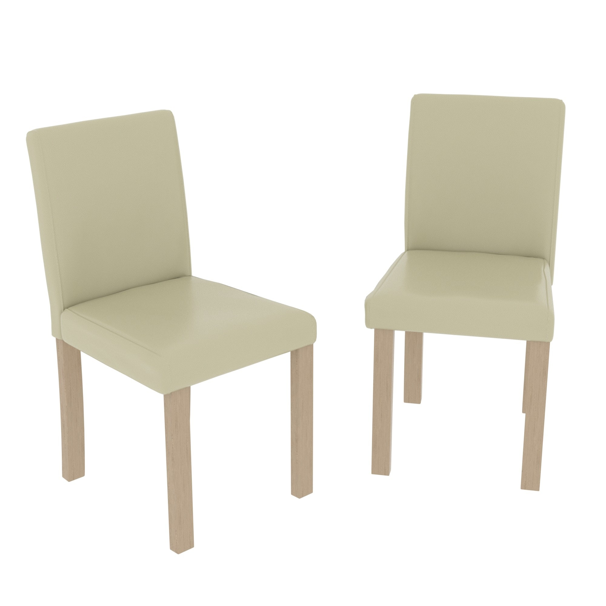 Fantastic Canterbury Set Of 2 Dining Chairs Cream Oak Andrewgaddart Wooden Chair Designs For Living Room Andrewgaddartcom