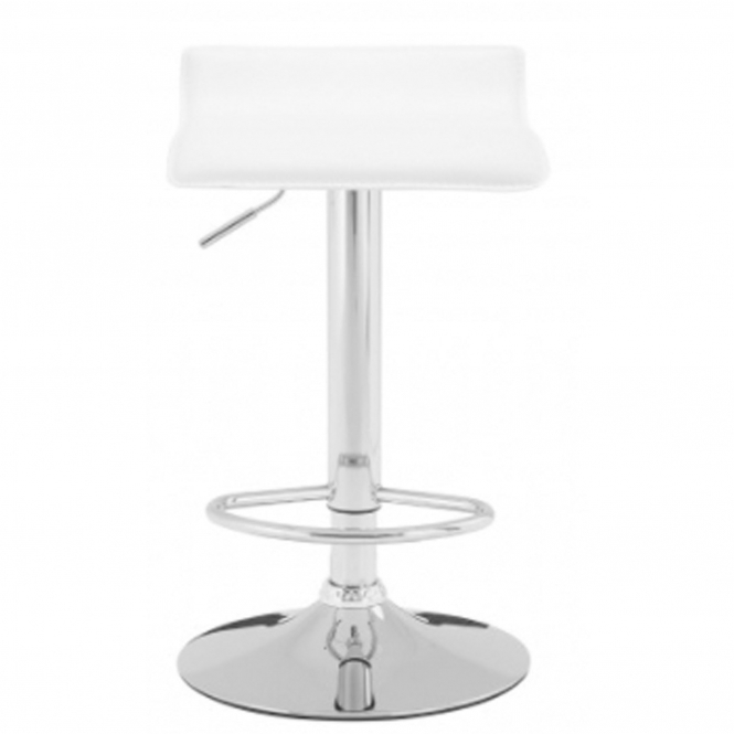 Carter White Bar Stool