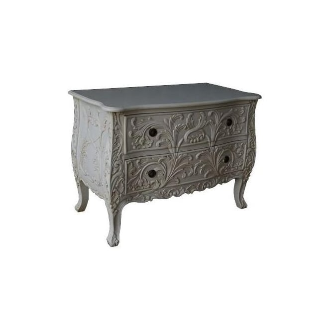 Carved Antique French Style Commode