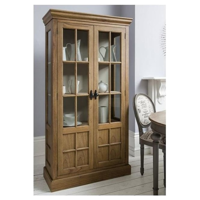 Casa Antique French Style Display Cabinet