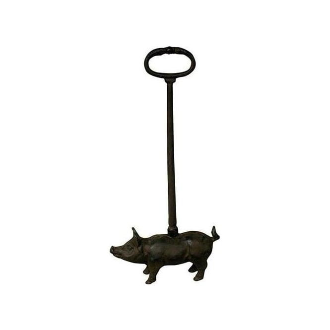 Cast Iron Pig Doorstop