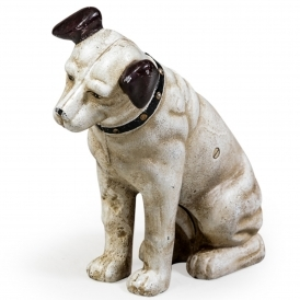 Cast Iron Sitting Terrier Ornament