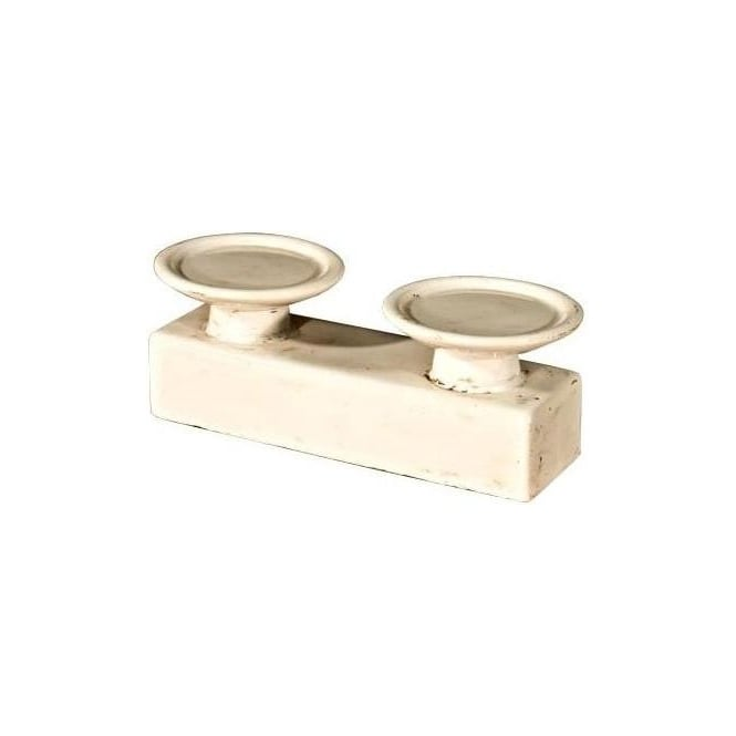 Ceramic Double Candle Holder