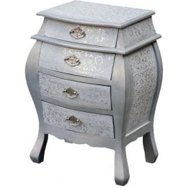 Chaandhi Kar Embossed Chest of Drawers